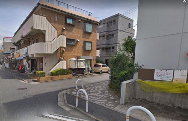 JR津田沼駅からの道案内010